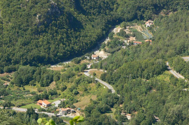 Isallo , vista dall'alto